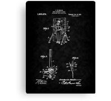 Magic - 1916 Knife Trowing Illusion Patent Canvas Print
