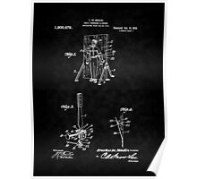 Magic - 1916 Knife Trowing Illusion Patent Poster