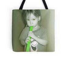Green Otter Pops! Tote Bag