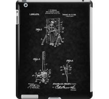 Magic - 1916 Knife Trowing Illusion Patent iPad Case/Skin