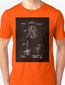 Magic - 1916 Knife Trowing Illusion Patent Unisex T-Shirt
