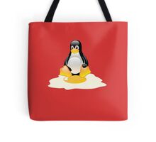 LINUX TUX  PENGUIN EGG MISCARRIAGE  Tote Bag