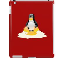 LINUX TUX  PENGUIN EGG MISCARRIAGE  iPad Case/Skin