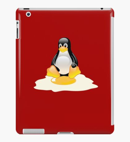 LINUX TUX  PENGUIN EGG MISCARRIAGE  iPad Case/Skin