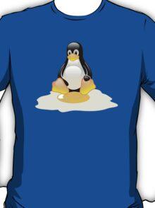 LINUX TUX  PENGUIN EGG MISCARRIAGE  T-Shirt