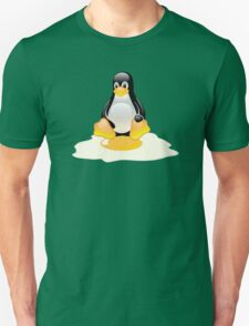 LINUX TUX  PENGUIN EGG MISCARRIAGE  Unisex T-Shirt