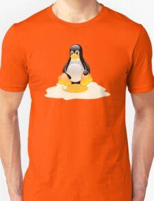 LINUX TUX  PENGUIN EGG MISCARRIAGE  Unisex T-Shirt