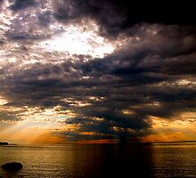 Lake Superior Cold Front by David Lampkins