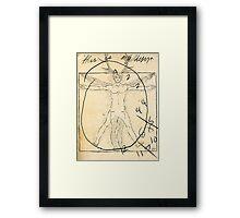 anatomy graham Framed Print
