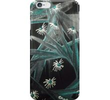 Spike Daisy green iPhone Case/Skin