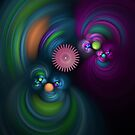 Colorful Gears by Heather Payson