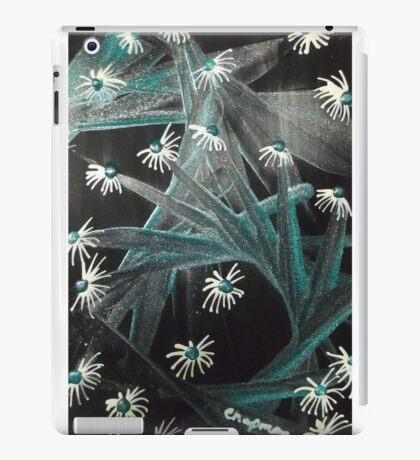 Spike Daisy green iPad Case/Skin
