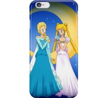 Princess Serenity and Queen Elsa iPhone Case/Skin
