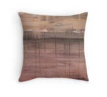 The Marshes Throw Pillow