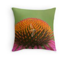 Tiny Insect 2 Throw Pillow