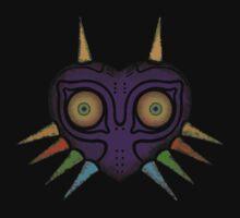 Legend of Zelda - Majora's Mask Weathered Kids Tee