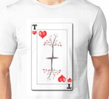 The Tree of Hearts playing card Unisex T-Shirt