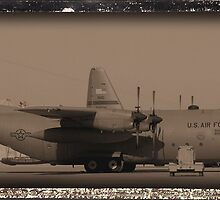 C-130 in Sepa-tone by Robert Phelps