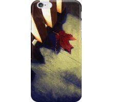 Last Leaf iPhone Case/Skin