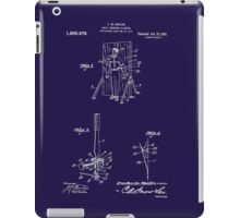 1916 Magician's Knife Throwing Illusion Patent Art iPad Case/Skin