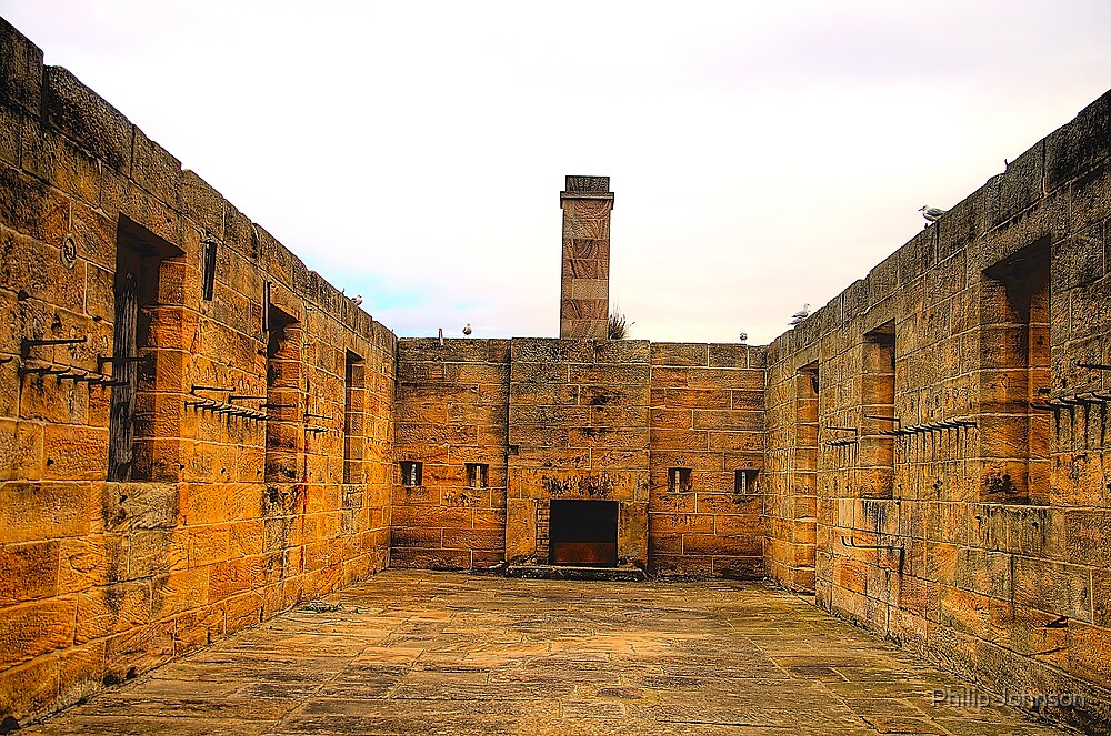 Last Defence - Cockatoo Island - The HDR Series , Sydney Harbour by Philip Johnson