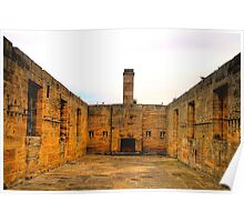 Last Defence - Cockatoo Island - The HDR Series , Sydney Harbour Poster
