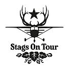 Stags On Tour - Stag Do - Aeroplane T-Shirt by springwoodbooks