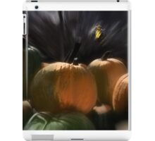 A Rush of Painted Pumpkins  iPad Case/Skin