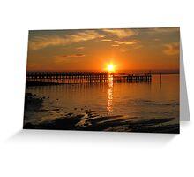 Grantville, Victoria :Sunset  Greeting Card