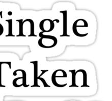 Relationship Status - Watching Teen Wolf Sticker