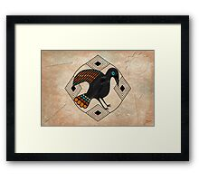 El Cuervo Framed Print
