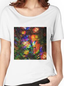 """"""" The beauty is the flower of the happiness. """" Women's Relaxed Fit T-Shirt"""