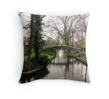 """""""Venice of the North"""" Throw Pillow"""