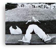Down But Not Out Canvas Print