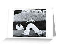Down But Not Out Greeting Card