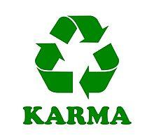 Karma Recycle Photographic Print