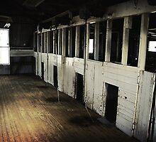 Shearing shed  by Bernadette Maurer