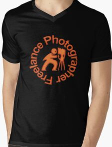 Freelance Photographer T Mens V-Neck T-Shirt