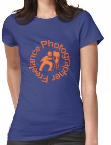 Freelance Photographer T Womens Fitted T-Shirt