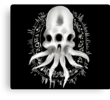 Alien Skull G Canvas Print