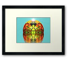 Green Eyed Lady of the Lake  (UF0281) Framed Print