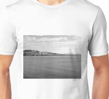 Island Caprera: sea landscape and military archeology Unisex T-Shirt
