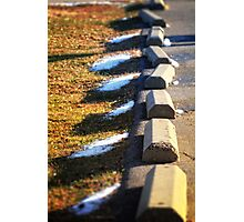 Parking Barriers Photographic Print