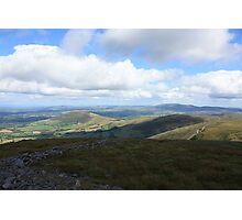 West Cork Mountains Photographic Print