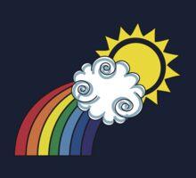 The Bright Side / Rainbow Baby Tee