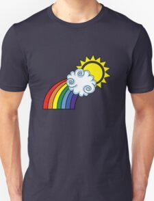 The Bright Side / Rainbow Unisex T-Shirt