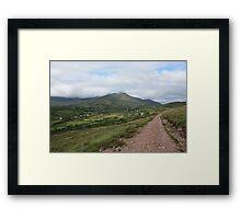 Drung Hill Kerry, Ireland Framed Print