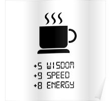 Coffee Power Up Poster
