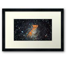 Astronaut Cat  Framed Print