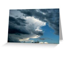 STORM CLOUDS MOVING IN..... Greeting Card